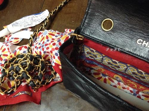 シャネルのバッグ