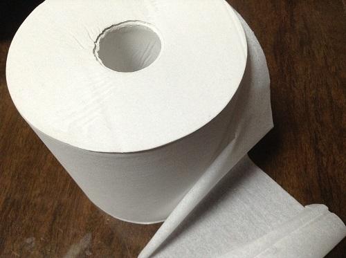 長尺トイレットペーパー,都度交換の手間, 業務用,トイレットペーパー
