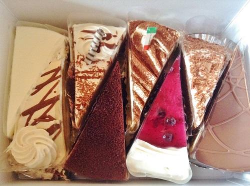 100円ケーキ,出張販売