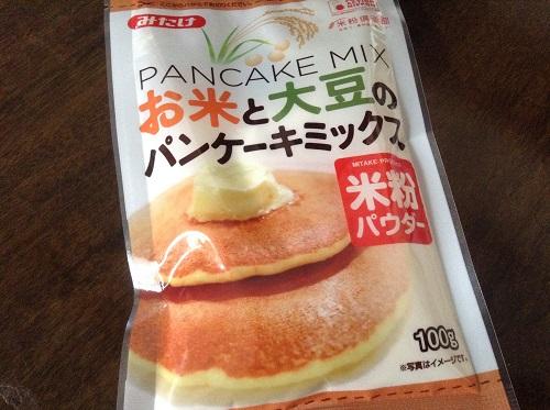 みたけ,大豆粉,米粉,パンケーキミックス,蒸しパン