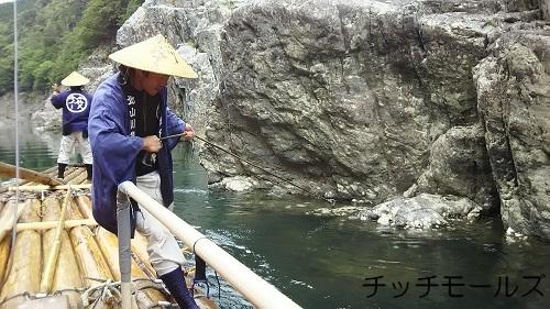 和歌山 北山村 筏下り