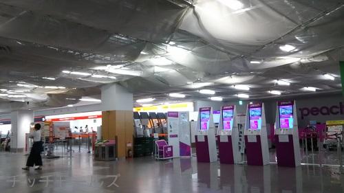 福岡空港国内線LCC